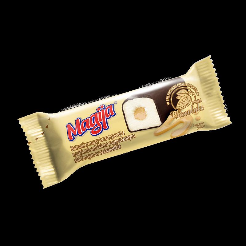4 Zematios Pienas Magija Batonik Twarogowy z mlekiem skondensowanym 45g