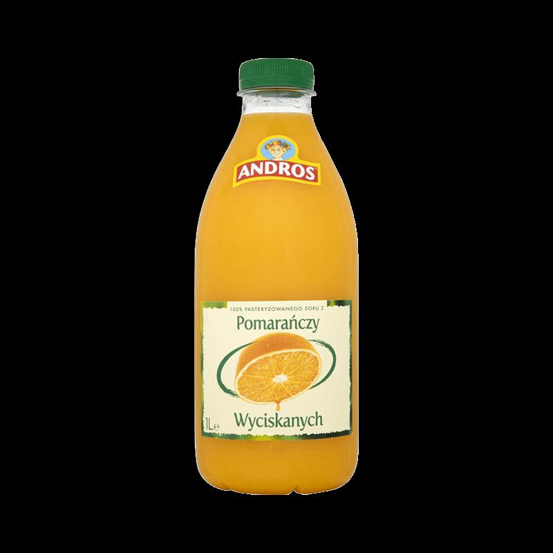 141 ANDROS Pomarańcza 1 L