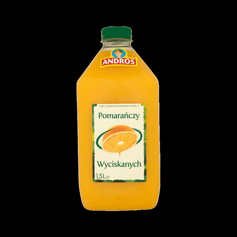 148 ANDROS Pomarańcza 1,5 L